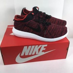 new styles bcf56 849c7 Nike Roshe two flyknit v2 Chile red 9.5 10 10.5 11 NWT